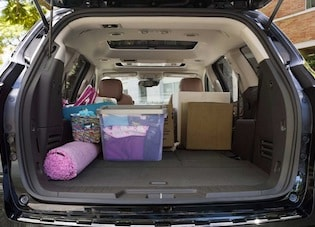 Space in the 2017 Chevrolet Traverse