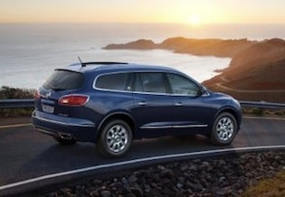 Exterior of the 2017 Buick Enclave