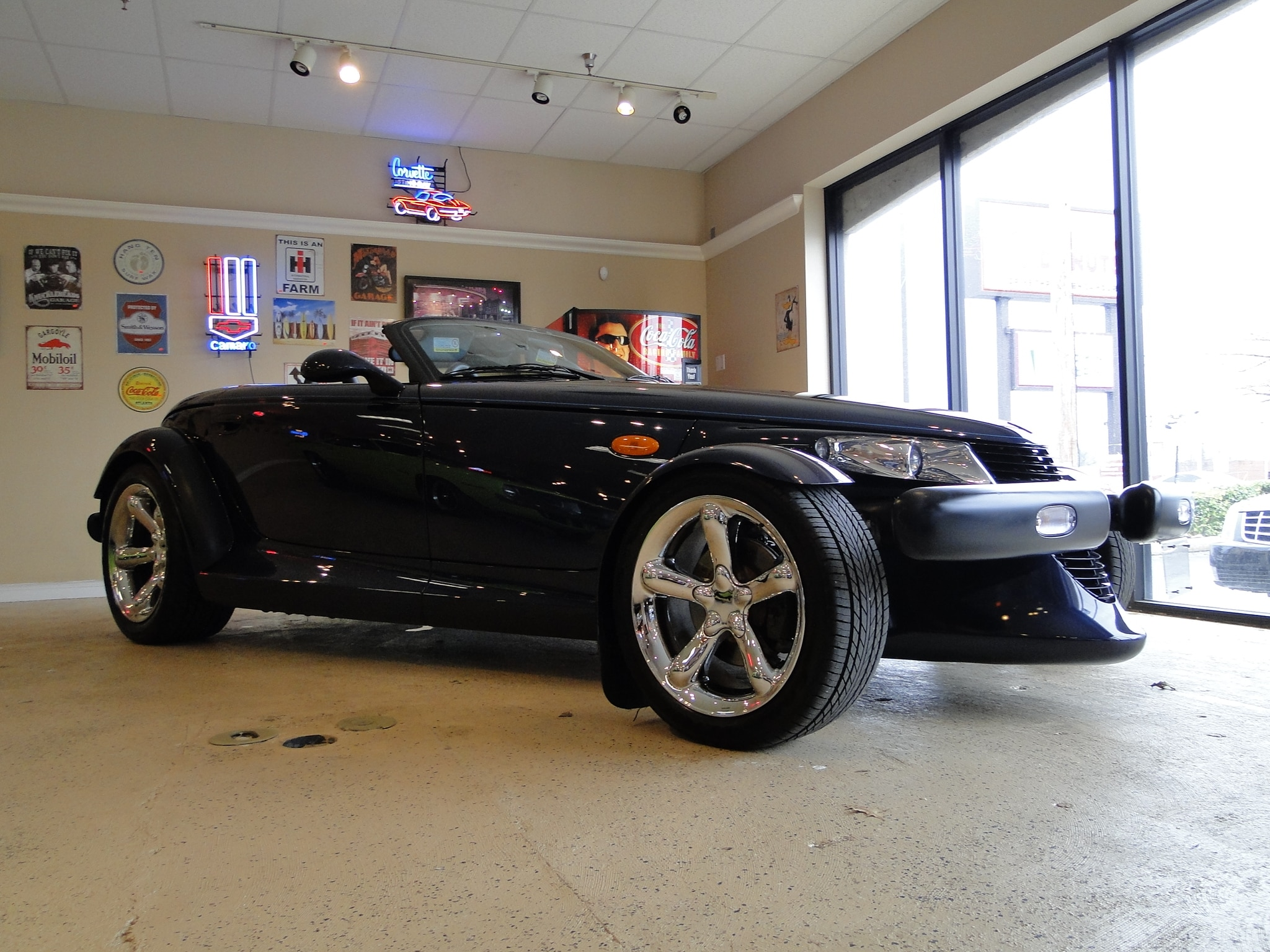 2001 chrysler prowler sold to pa convertible glen burnie md