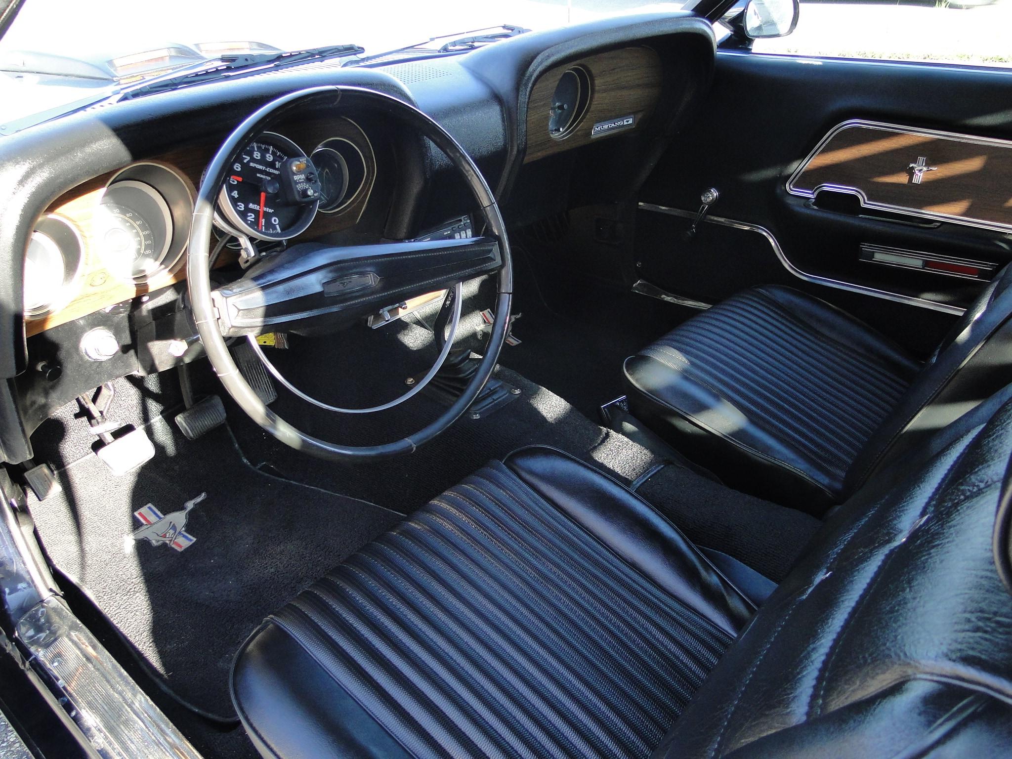 fastback glen burnie md 1969 ford mustang fastback sold fastback glen burnie md - 1969 Ford Mustang Fastback Interior