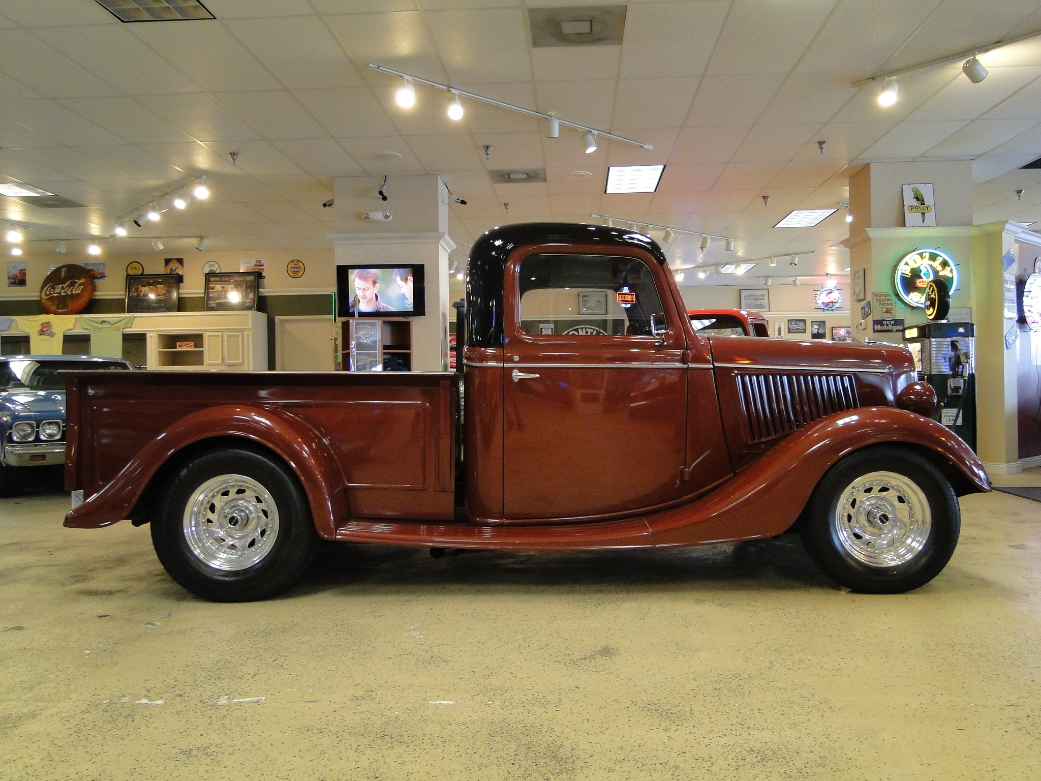 New 1936 Ford Pick Up Sold To Ny Glen Burnie Md