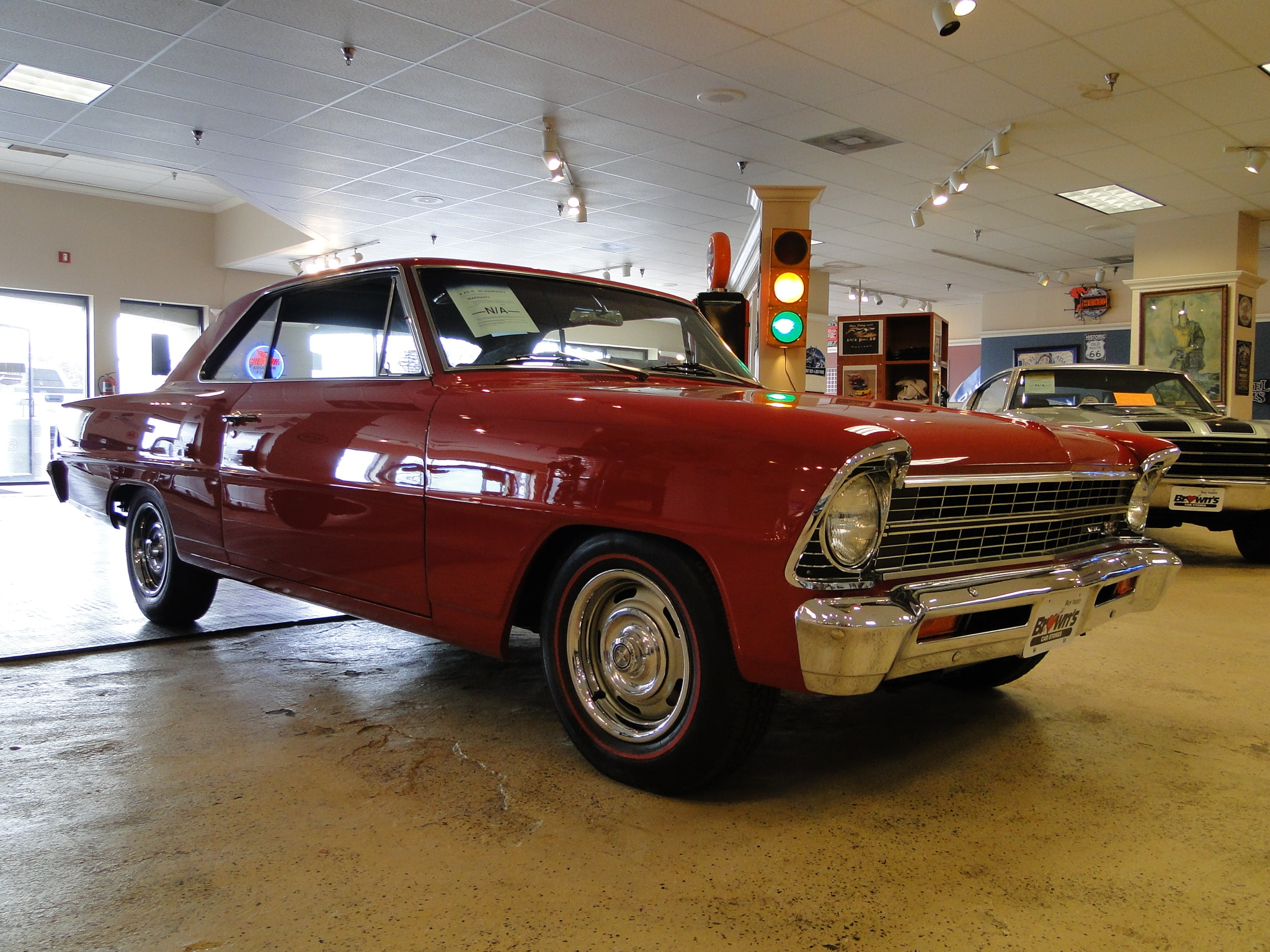 1967 Chevrolet Nova REAL SS SOLD TO PA! Coupe Glen Burnie MD