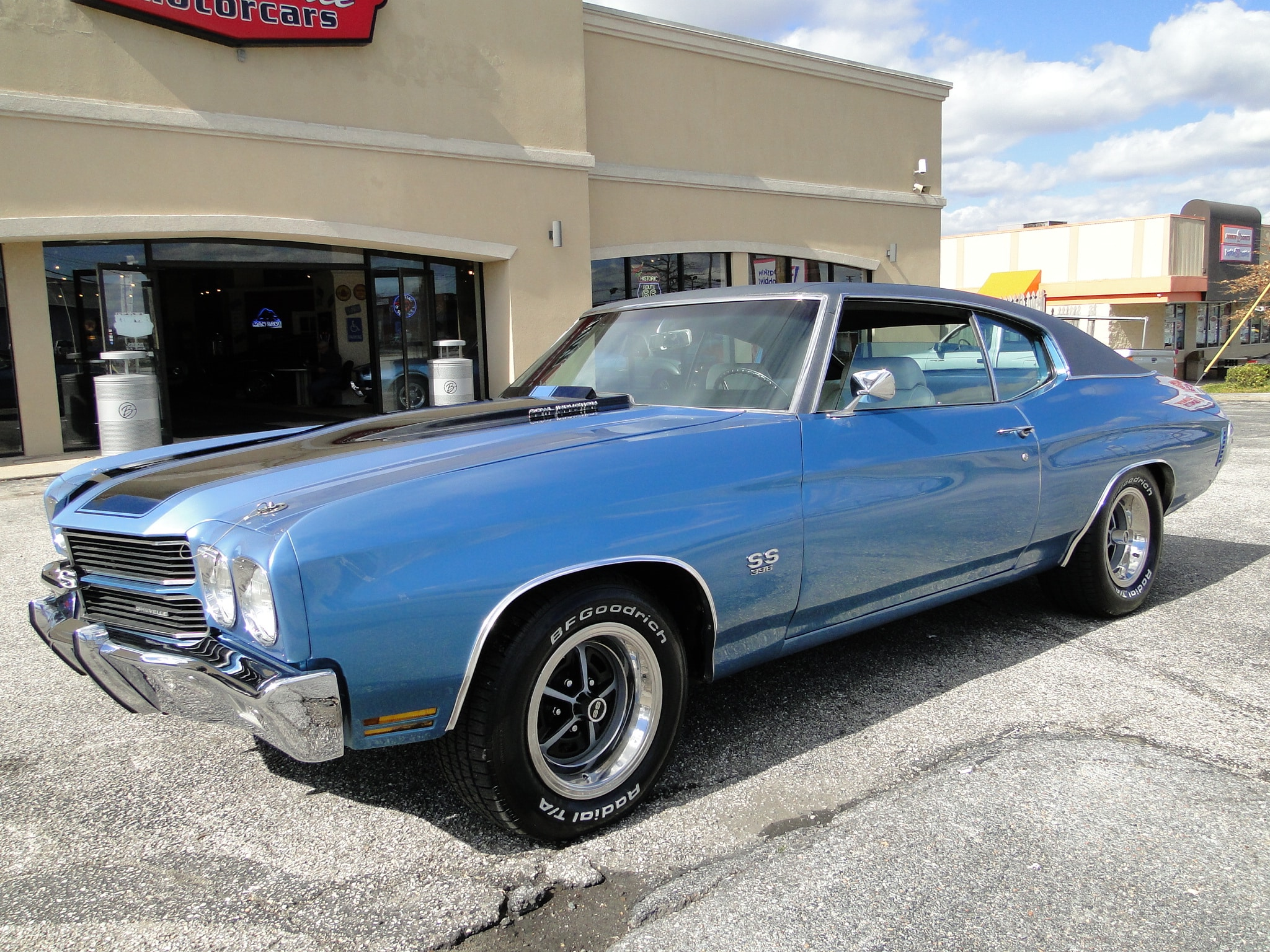 1970 Chevrolet Chevelle SS396 With Build Sheet SOLD! Coupe