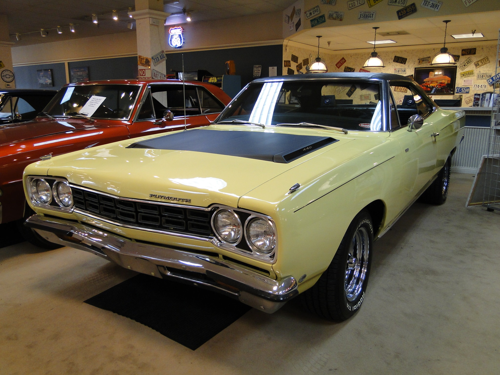 1968 Plymouth RoadRunner 440 Coupe Glen Burnie MD