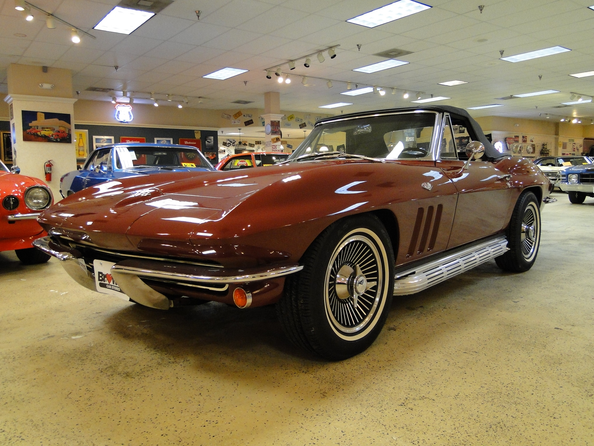1965 Chevrolet Corvette Numbers Matching Convertible