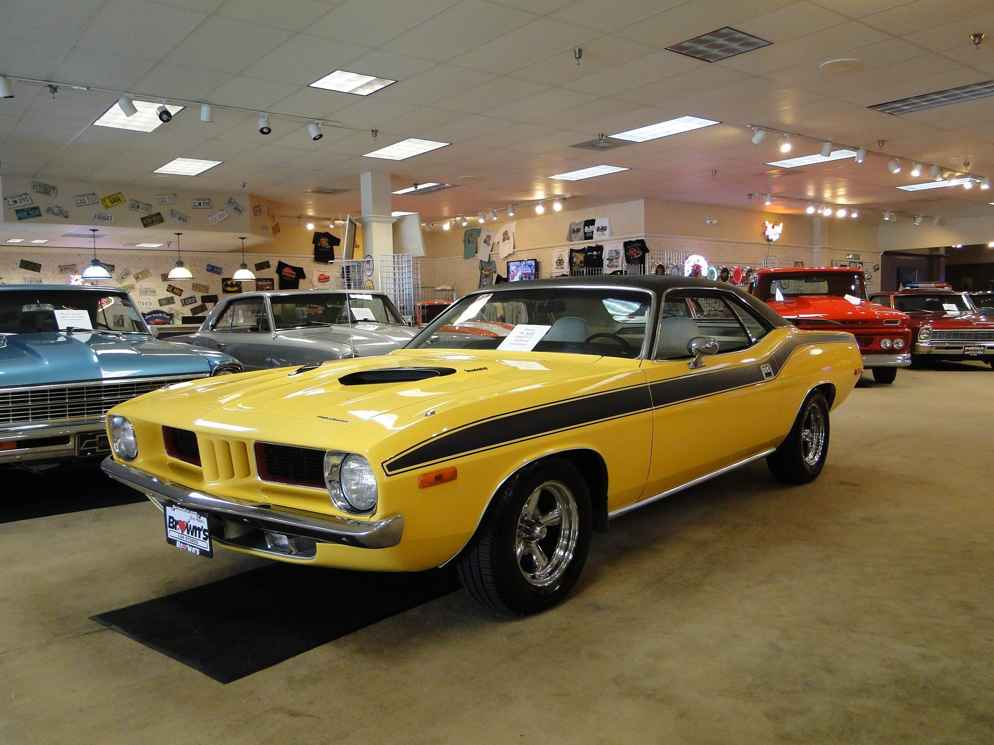 Car Sales Near Me >> About Brown's Performance | Classic & Muscle Car Dealer ...