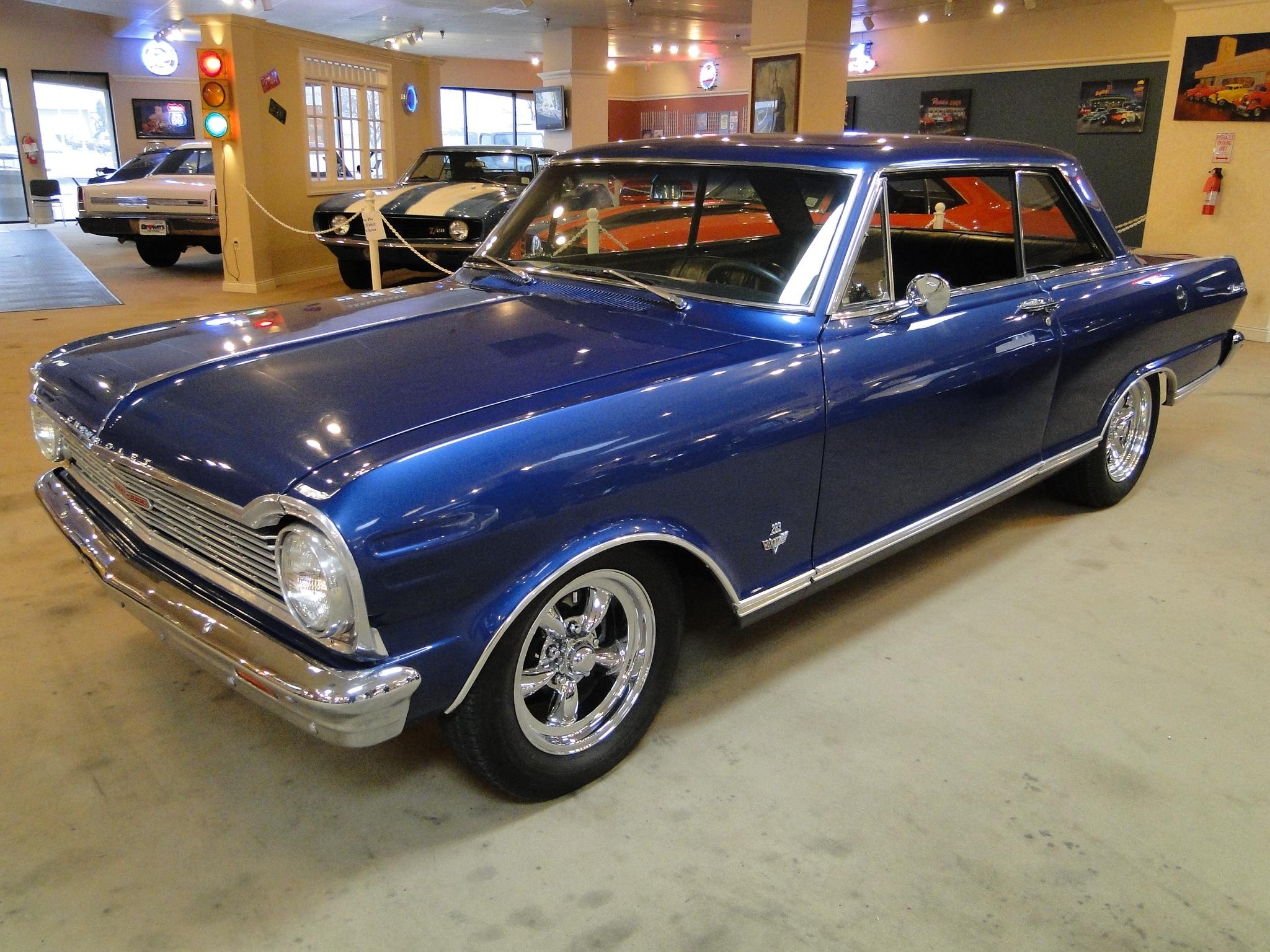 New 1965 Chevrolet Nova Super Sport Sold To Ny Glen