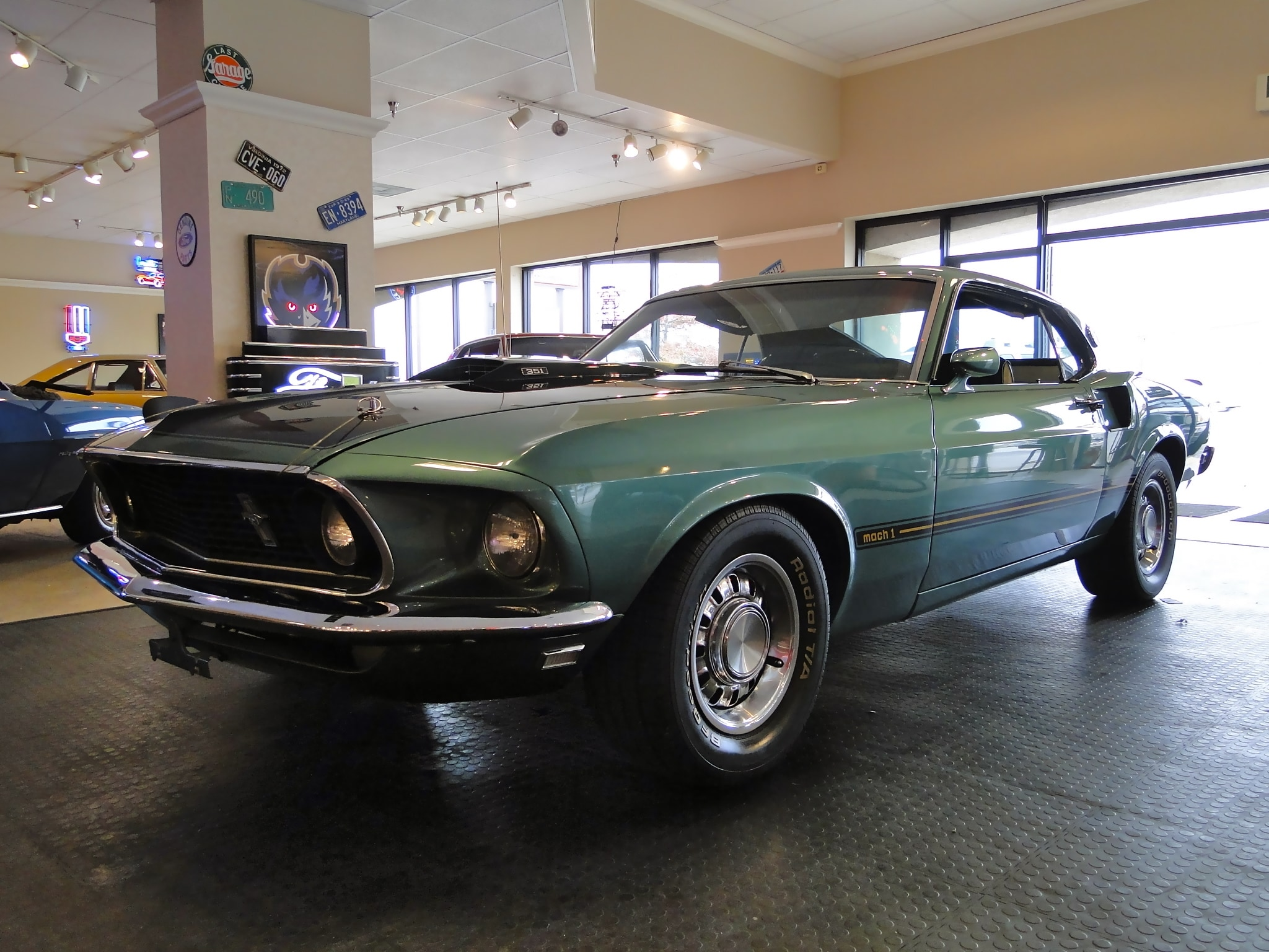 1969 ford mustang mach 1 sold to md fastback glen burnie md