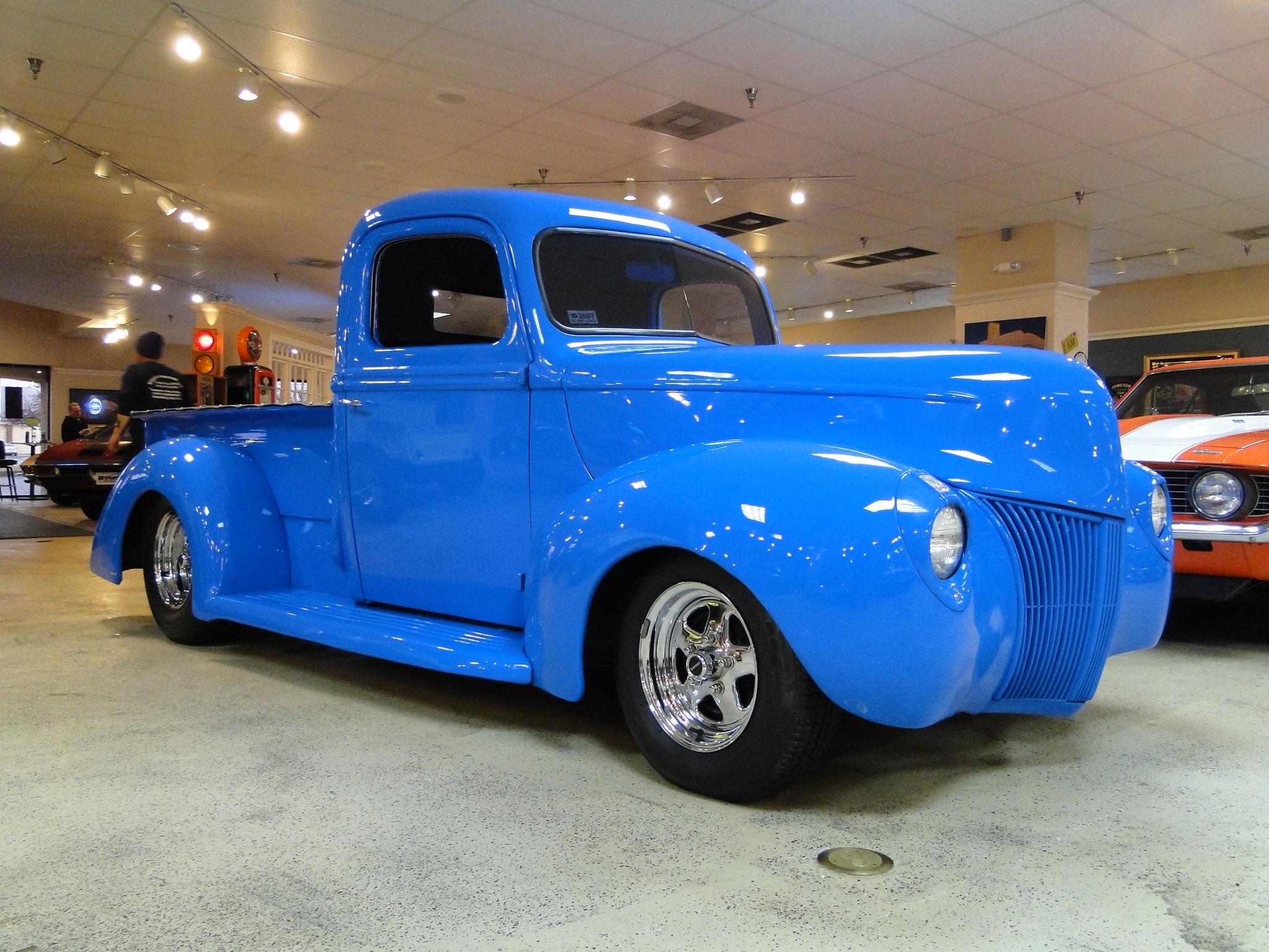 new 1940 ford pickup street rod sold to va glen burnie md baltimore r0523. Black Bedroom Furniture Sets. Home Design Ideas