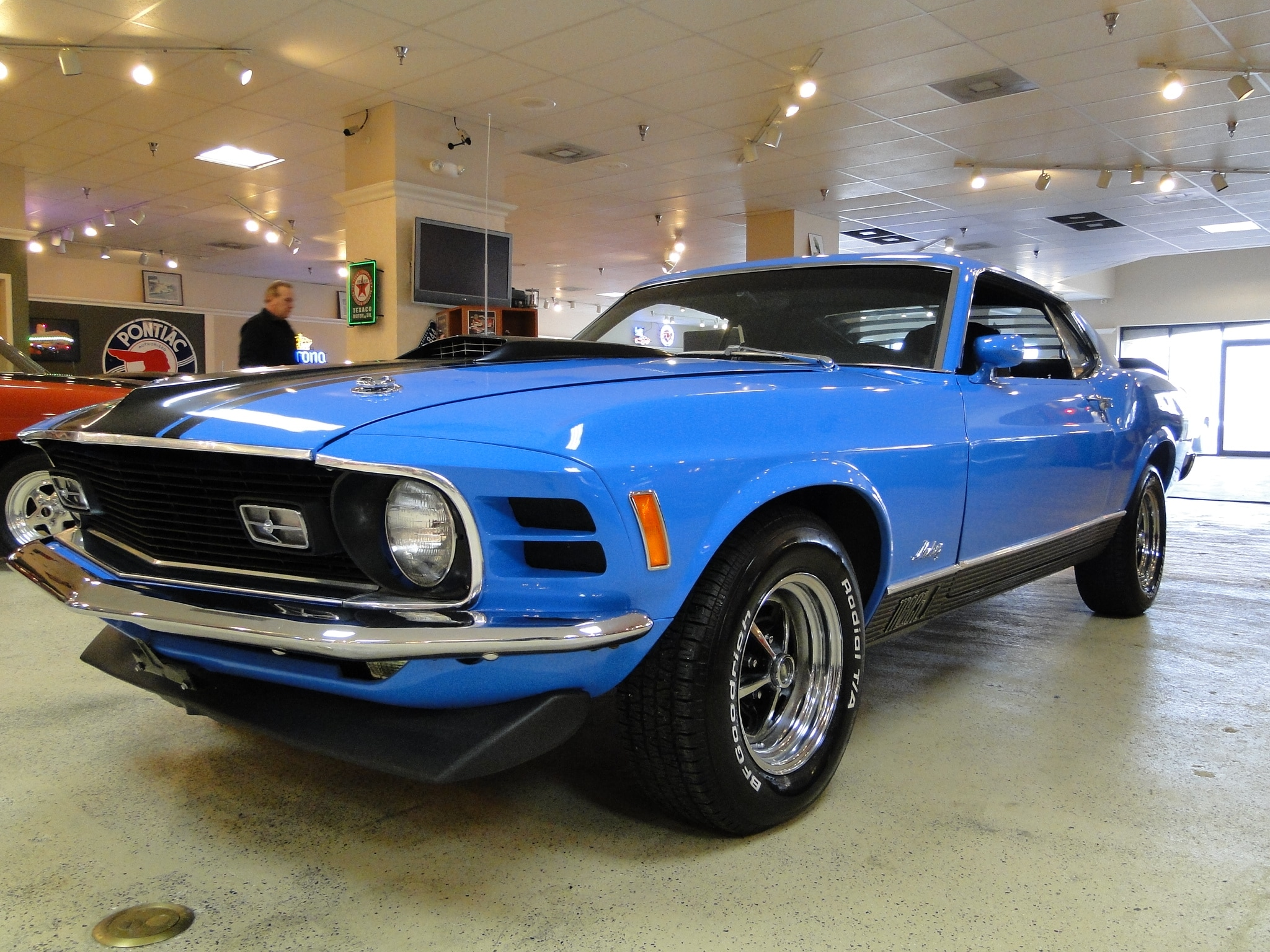 New 1970 Ford Mustang Mach 1 Numbers Matching SOLD TO NJ  Glen