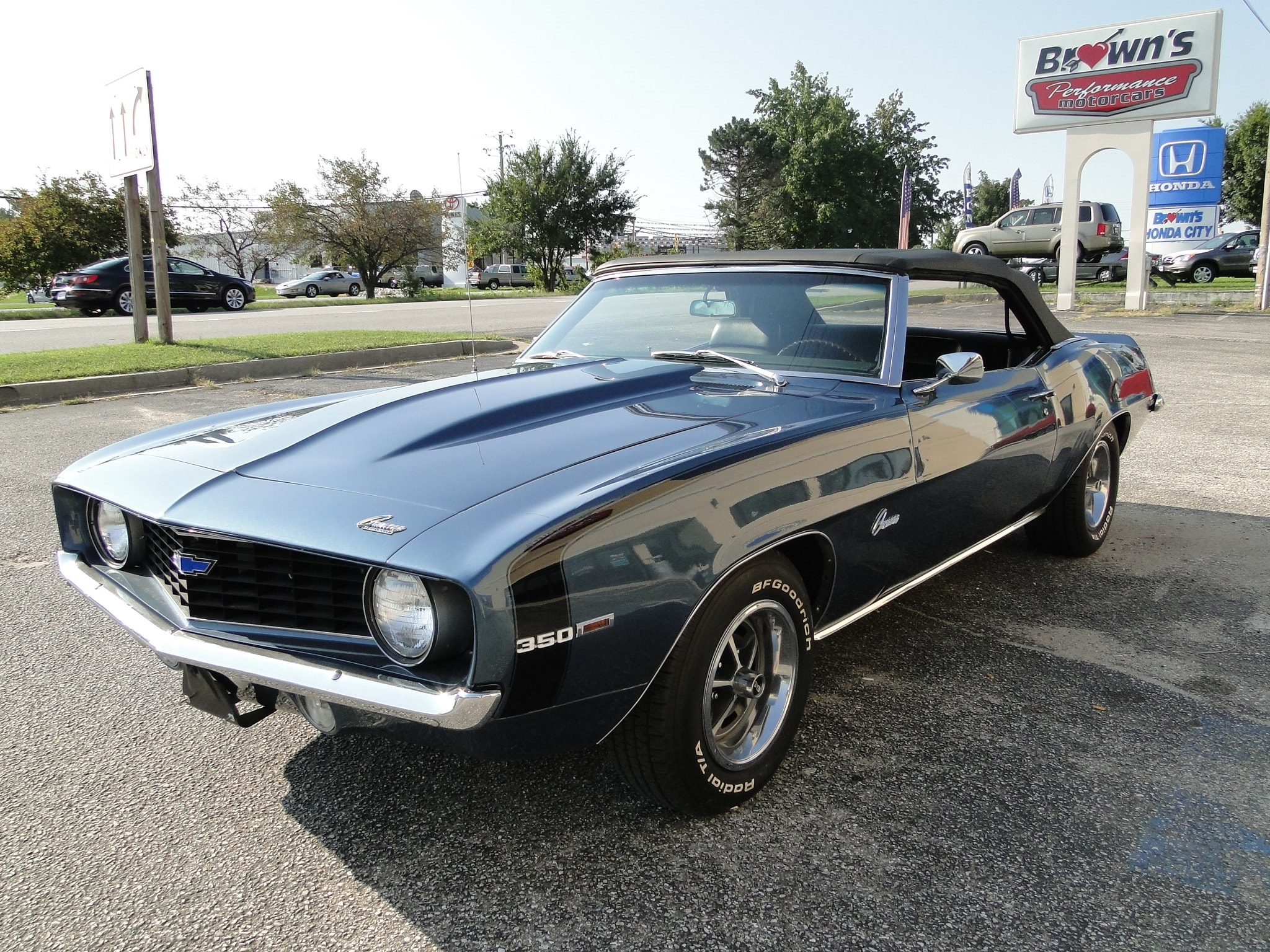 new 1969 chevrolet camaro convertible for sale glen burnie md r0329. Cars Review. Best American Auto & Cars Review
