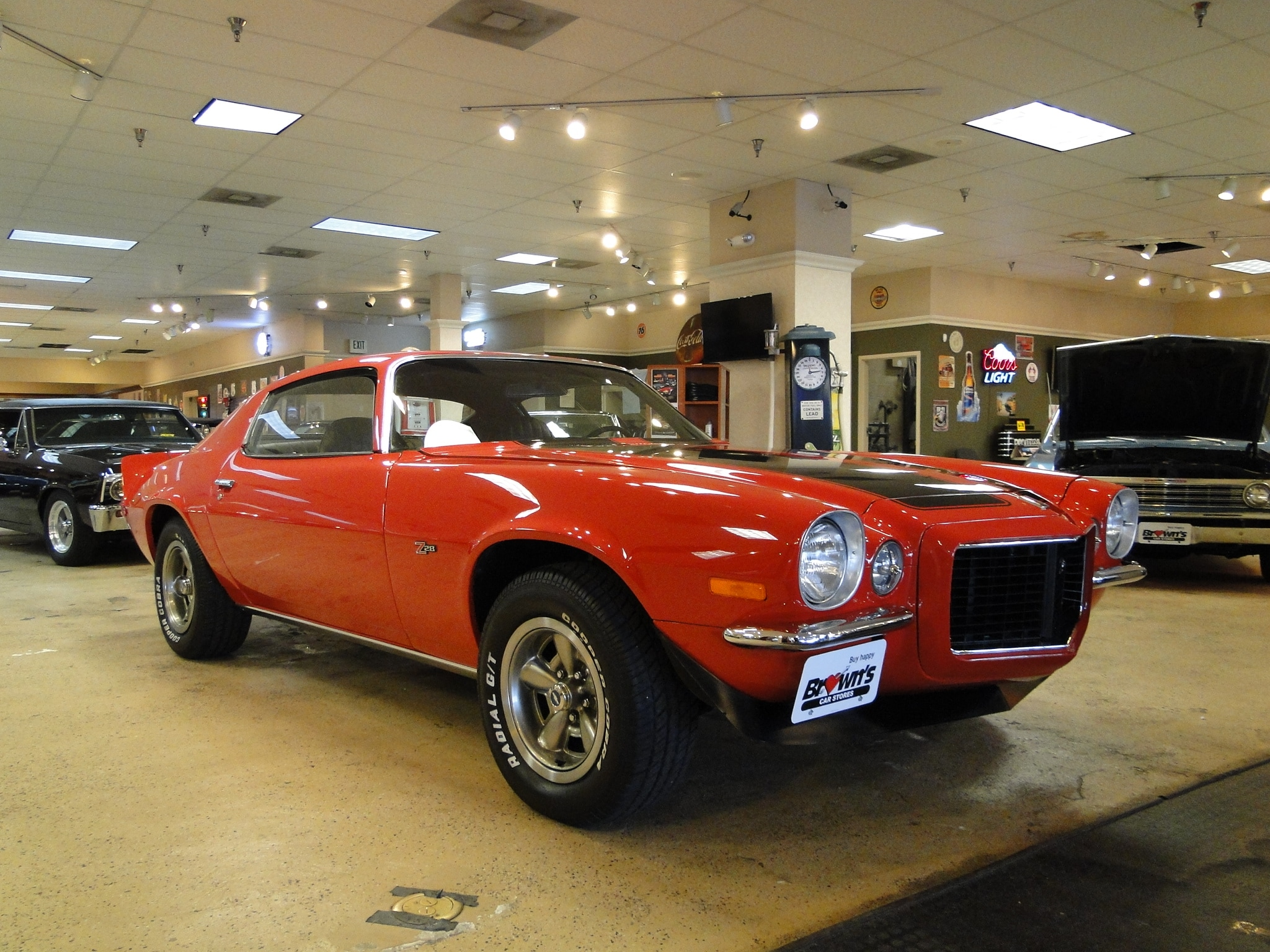 New 1972 Chevrolet Camaro Numbers Matching Z 28 Rs Sold To