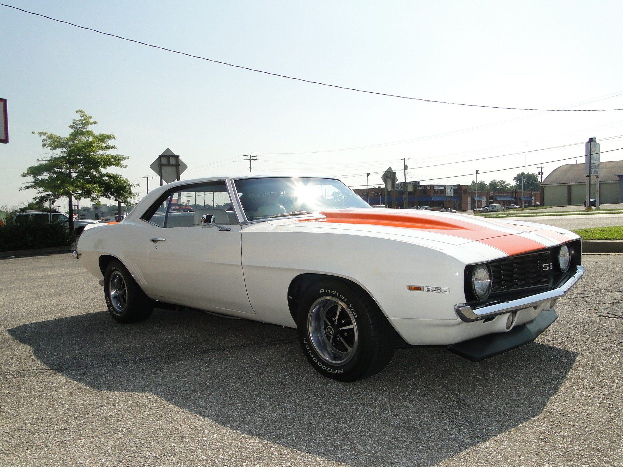 New 1969 Chevrolet Camaro Supercharged Small Block Sold To