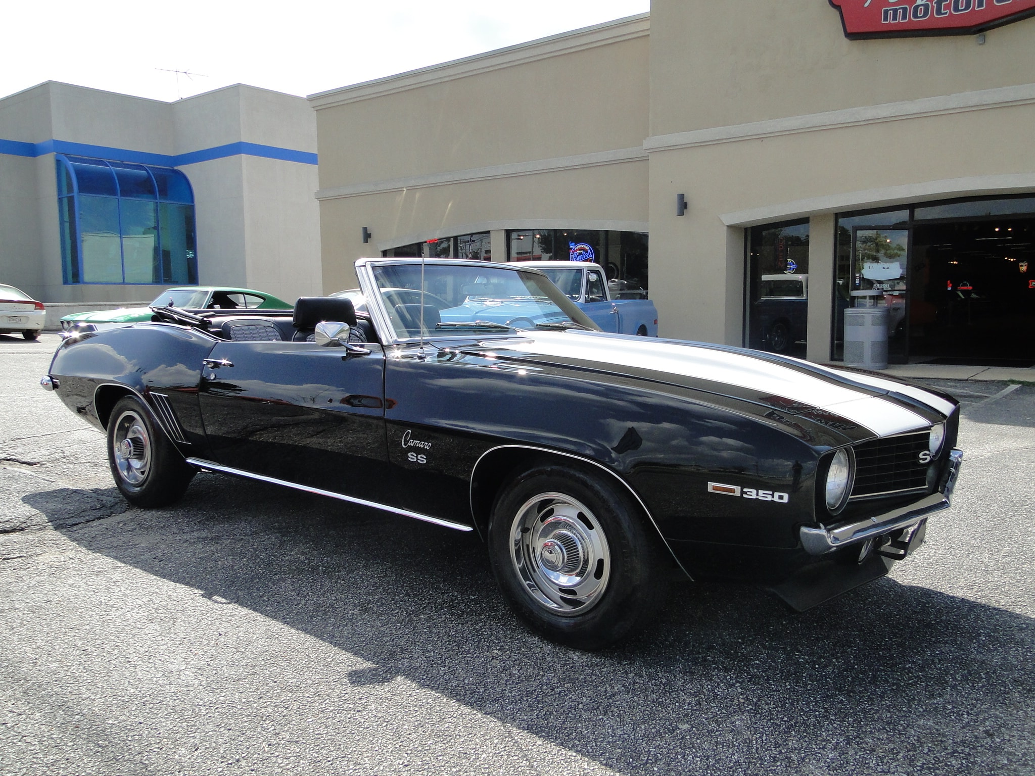 1969 Chevrolet Camaro Convertible Convertible 350 4 Speed Manual R0364