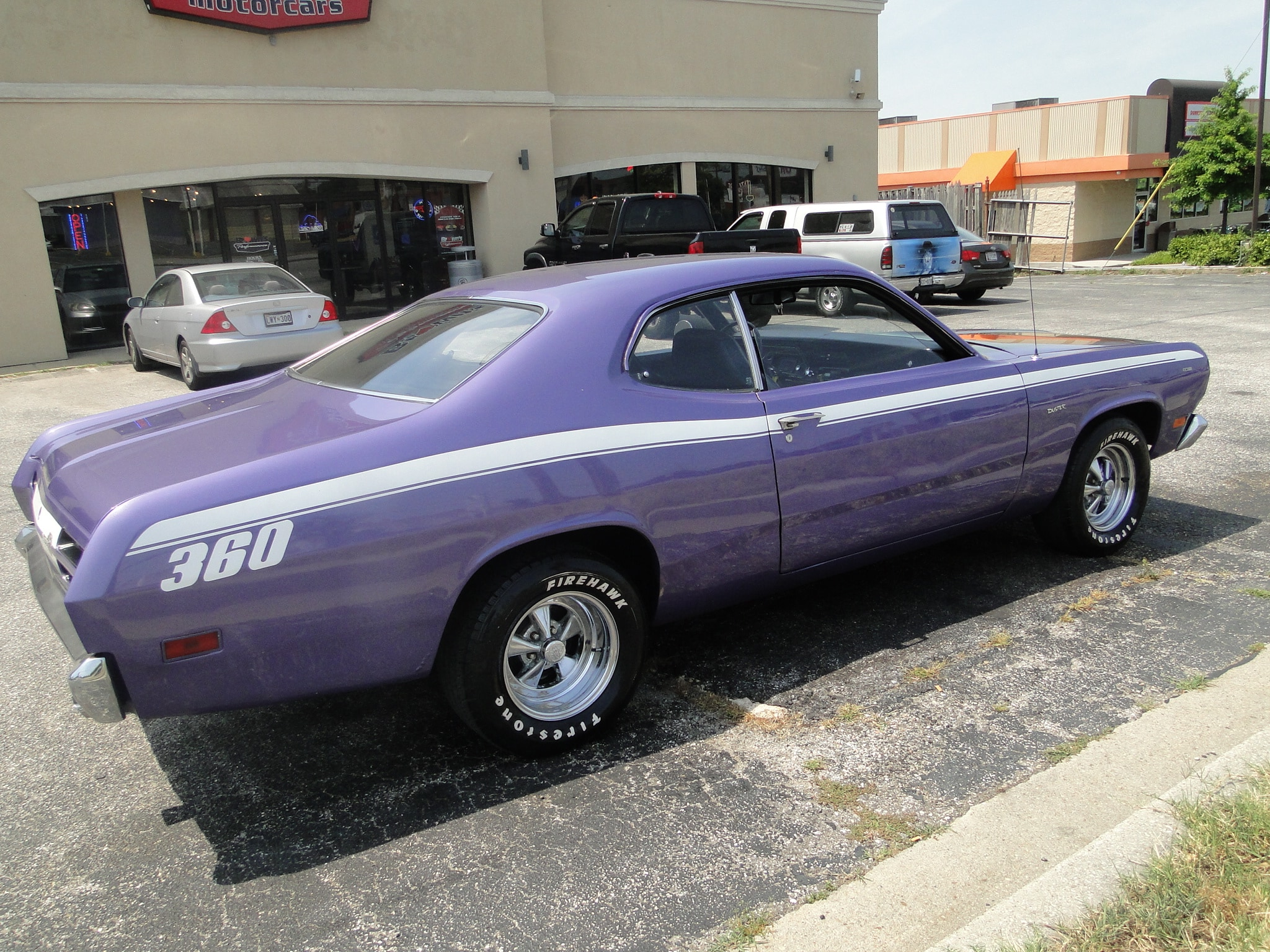 new 1970 plymouth duster 360 glen burnie md baltimore r0387. Black Bedroom Furniture Sets. Home Design Ideas