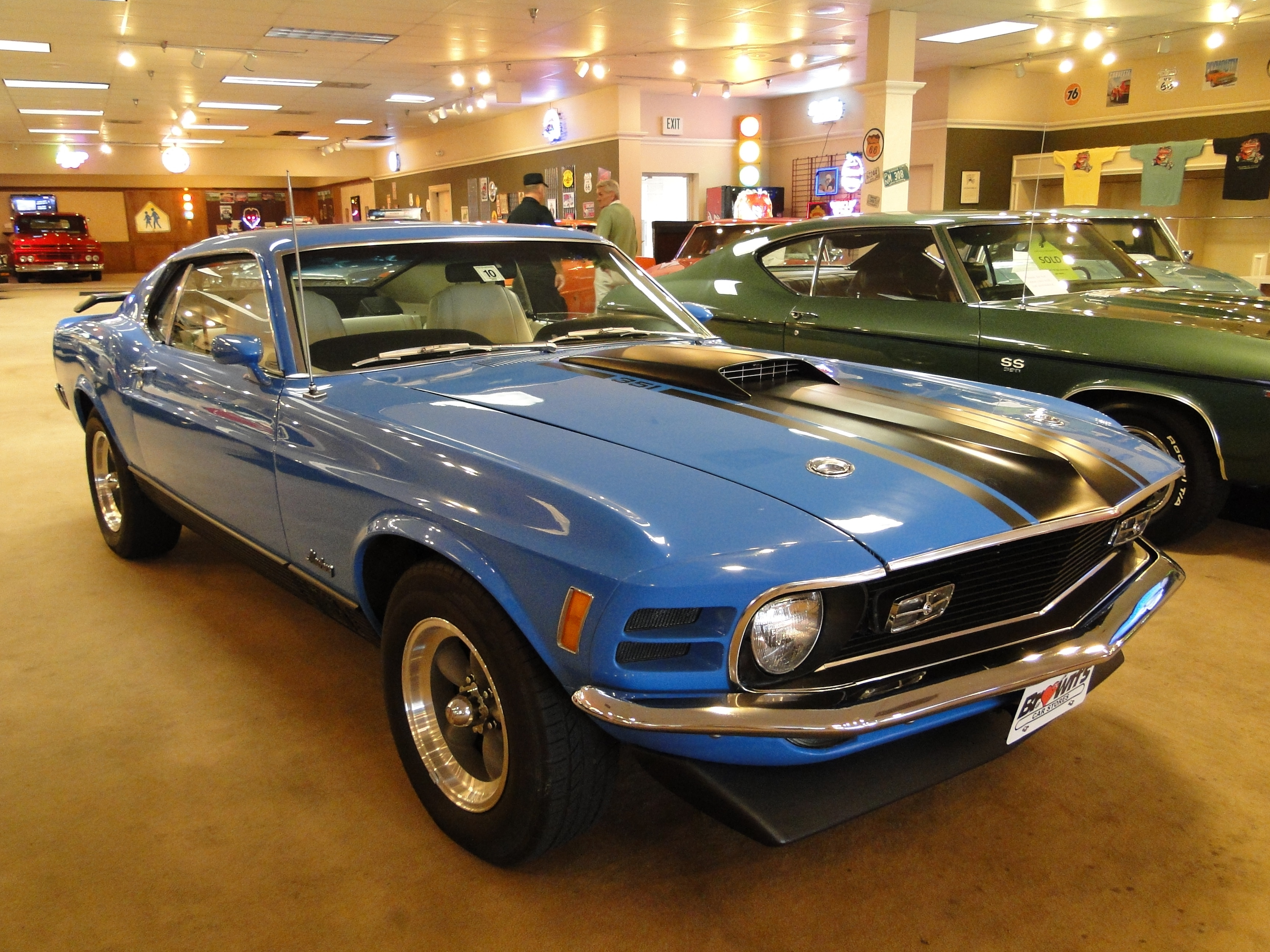 New 1970 Ford Mustang MACH 1 351c 4V  Glen Burnie MD Baltimore