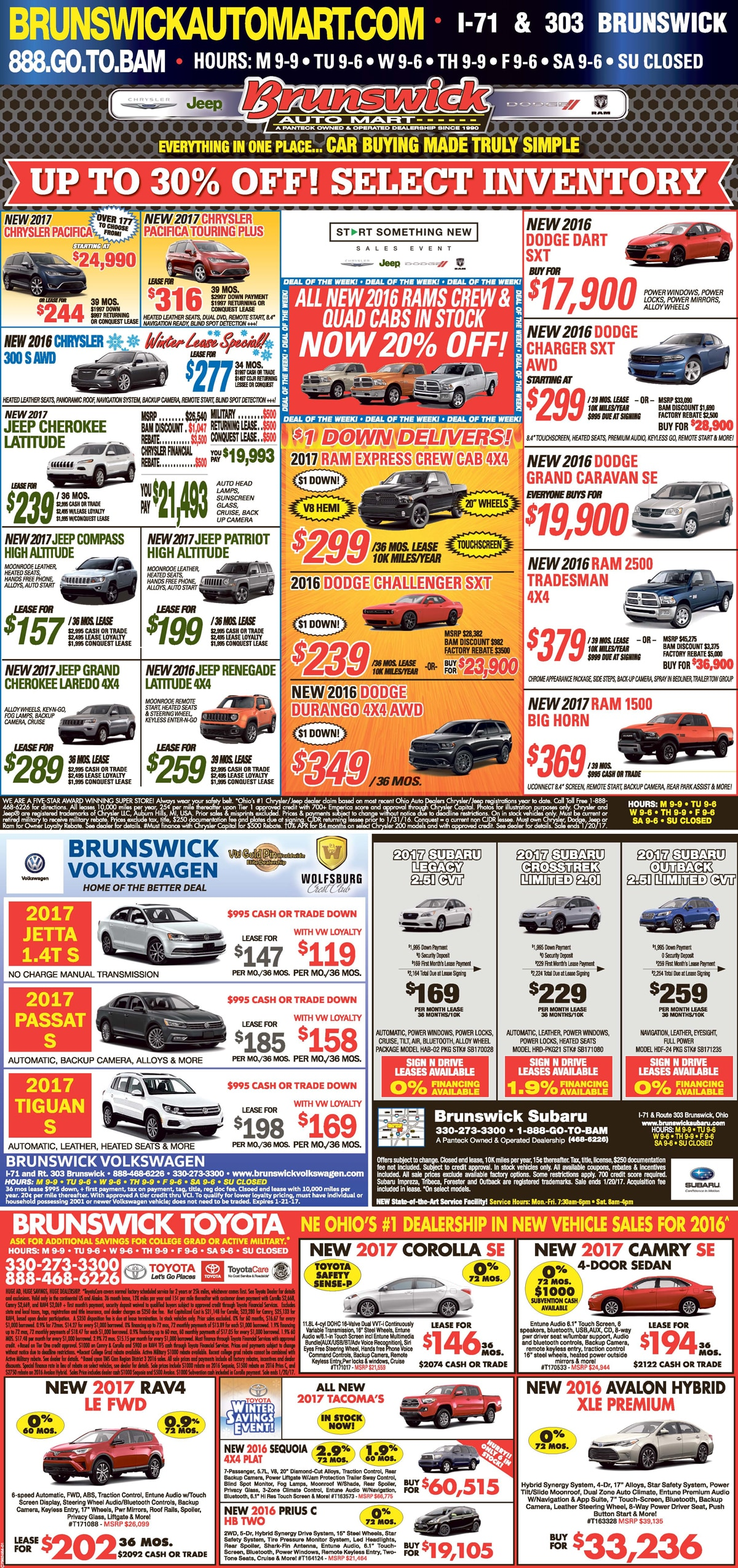 Pre Owned Inventory Brunswick Auto Mart Toyota Serving Autos Post