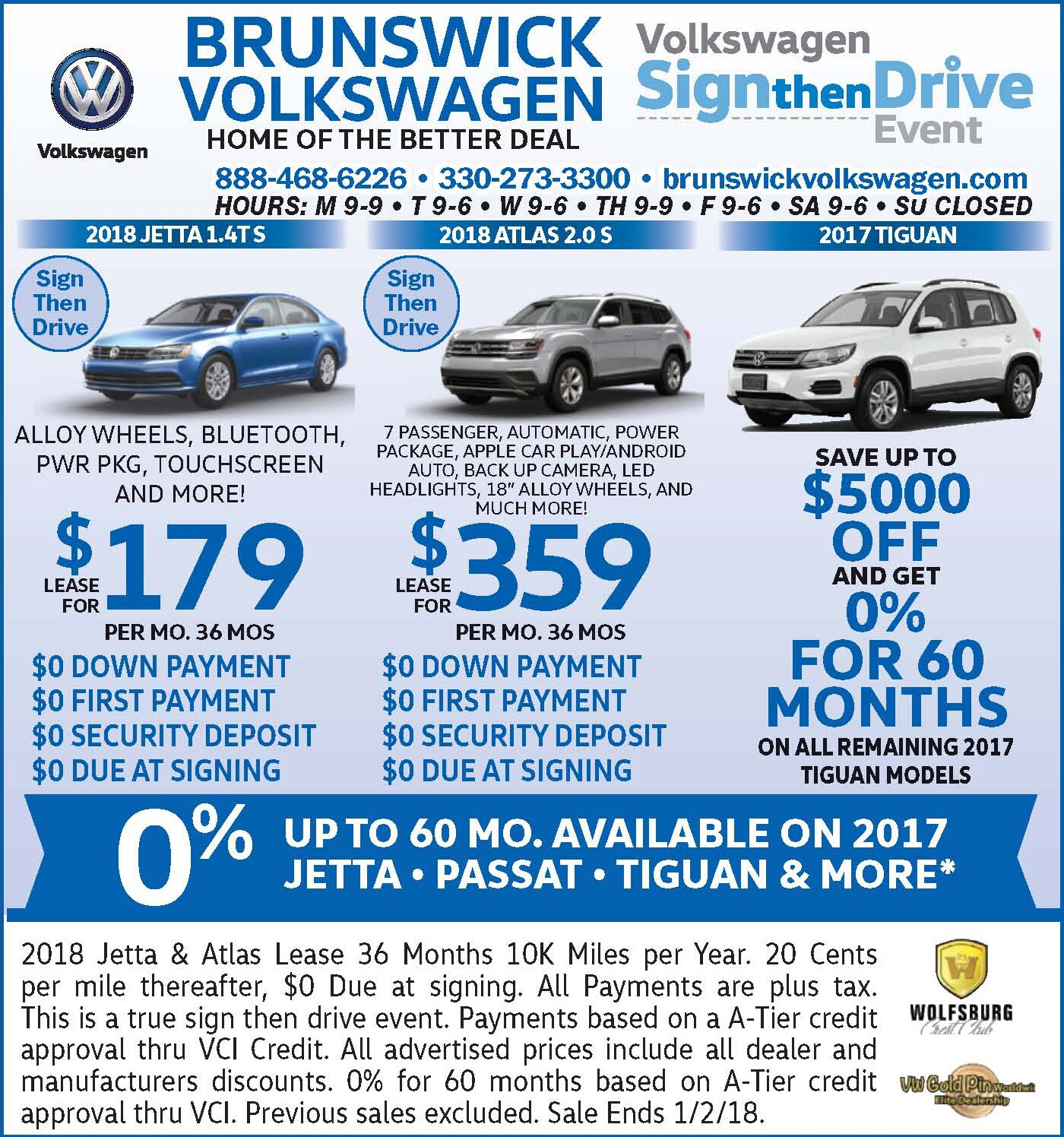 Weekly Newspaper Print Ads Brunswick Auto Mart Serving