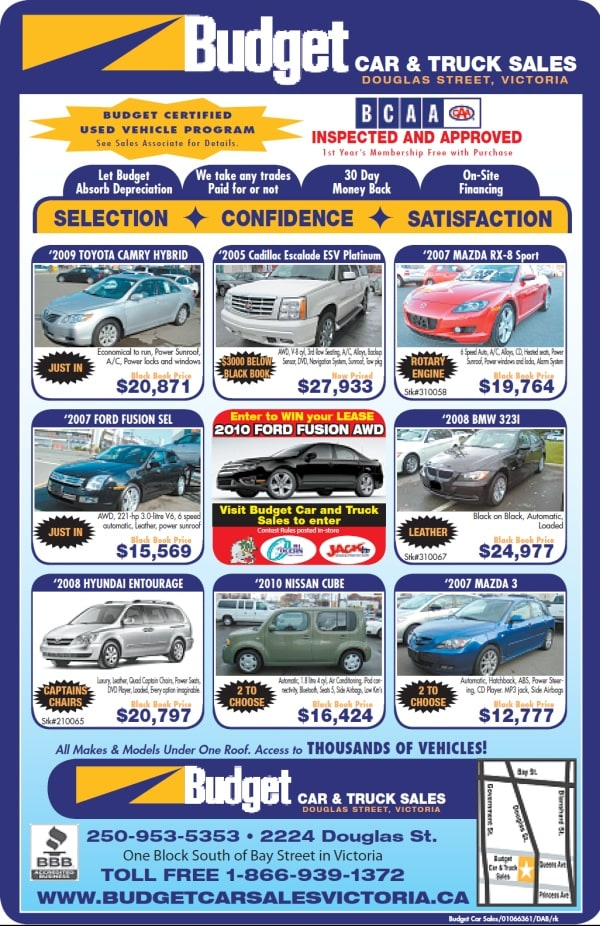 Budget Car And Truck Sales Victoria