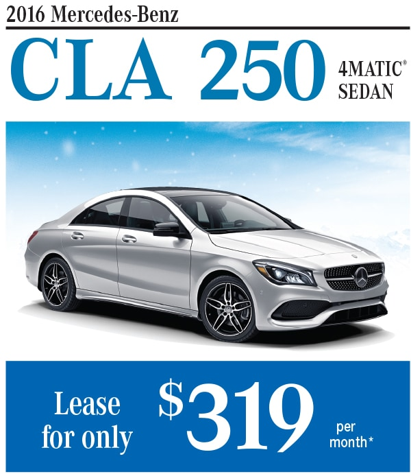 New mercedes benz cla250 lease or finance offers at bud for Mercedes benz cla lease deals
