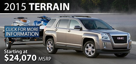 Learn More About the 2015 GMC Terrain at Burdick GMC