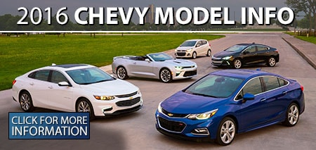 Learn More About the 2016 Chevrolet Models!