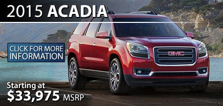 Learn More About the 2015 GMC Acadia at Burdick GMC