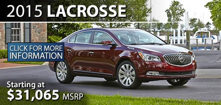 Learn More About the 2015 Buick LaCrosse at Burdick GMC