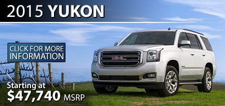 Learn More About the 2015 GMC Yukon at Burdick GMC