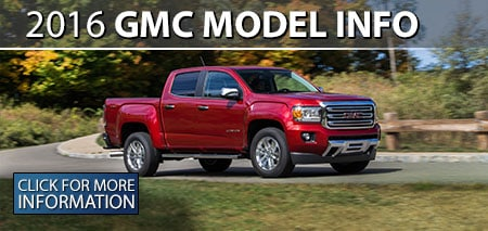 Learn More About the 2016 GMC Models!