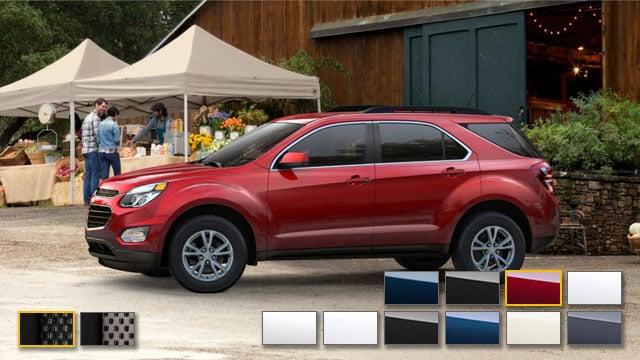 2016 Chevrolet Equinox Color Options Burdick Chevrolet