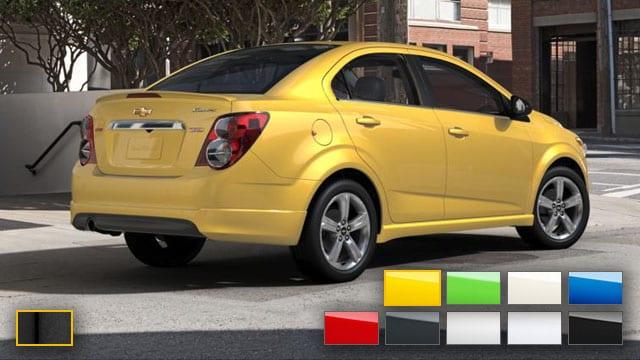 2016 Chevrolet Sonic Color Options Burdick Chevrolet