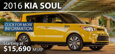 Learn More About the 2016 Kia Soul at Burdick Kia