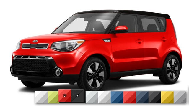 2016 Kia Soul Color Options Burdick Kia