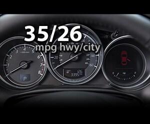 2016 Mazda CX-5 up to 35/26MPG highway/city