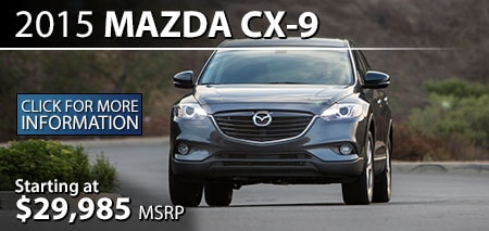 Learn More About the 2015 Mazda CX-9 at Burdick Mazda