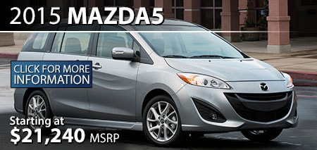 Learn More About the 2015 Mazda5 at Burdick Mazda