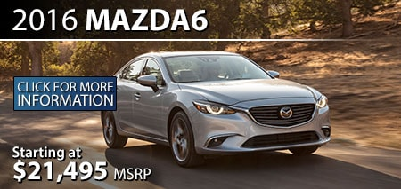Learn More About the 2015 Mazda6 at Burdick Mazda