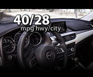 2016 Mazda6 up to 40/28MPG highway/city