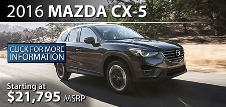 Learn More About the 2015 Mazda CX-5 at Burdick Mazda
