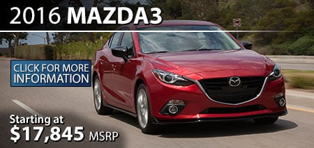 Learn More About the 2015 Mazda3 at Burdick Mazda