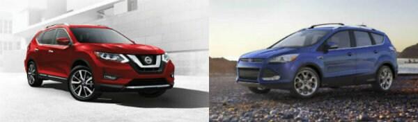 2016 Nissan Rogue vs Ford Escape