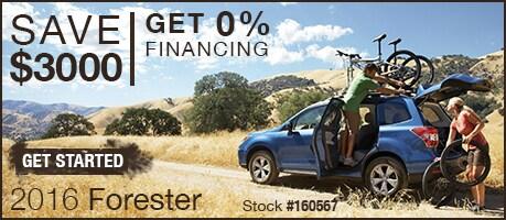 New Subaru Forester Deals