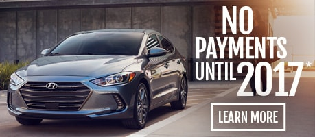 2017 Hyundai Elantra No Payments Until 2017