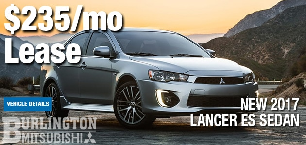 New 2017 Mitsubishi Lancer Managers Special
