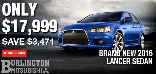 New Mitsubishi Lancer Managers Special