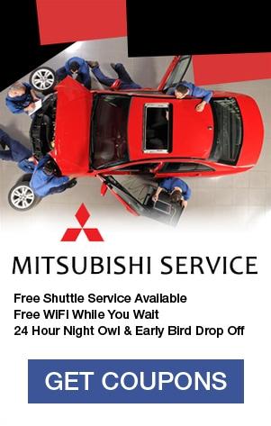 Mitsubishi Service Coupons