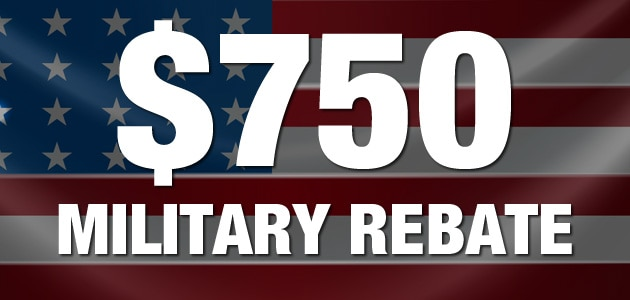 Mitsubishi Military Rebate
