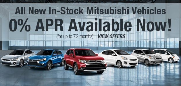 Mitsubishi 0% Finance Deals