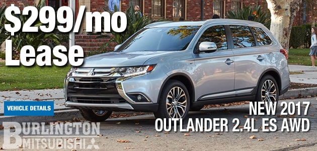 New 2017 Mitsubishi Outlander Manager Special
